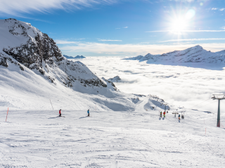 Monterosa ski resort in Aosta Valley